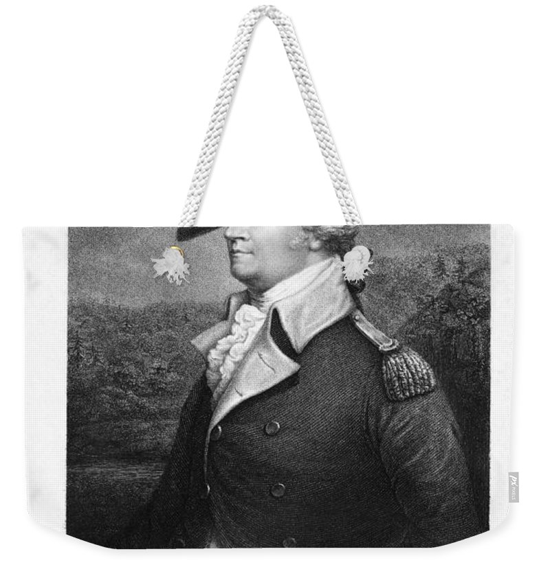 18th Century Weekender Tote Bag featuring the photograph Anthony Wayne (1745-1796) by Granger