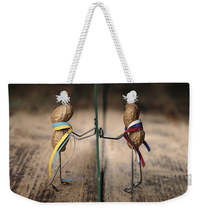 Chasm Weekender Tote Bags