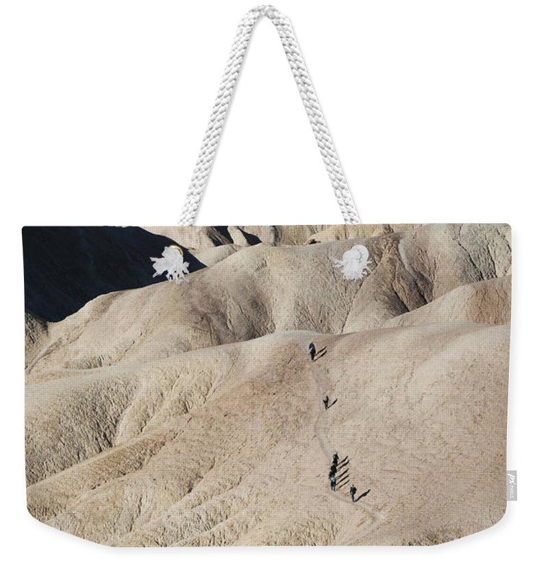 America Weekender Tote Bag featuring the photograph Badlands by Juli Scalzi