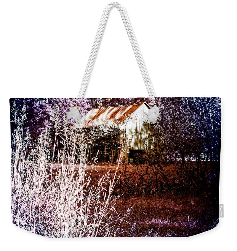 Barn Weekender Tote Bag featuring the photograph Barn 1 by Ericamaxine Price