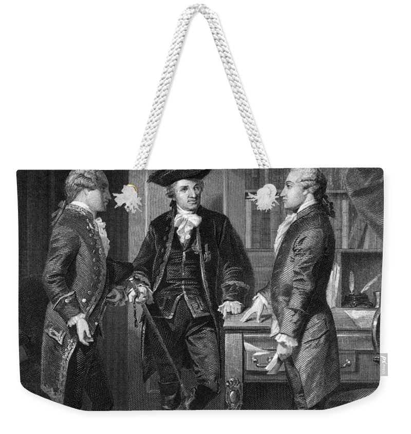 1776 Weekender Tote Bag featuring the photograph Baron De Kalb (1721-1780) by Granger