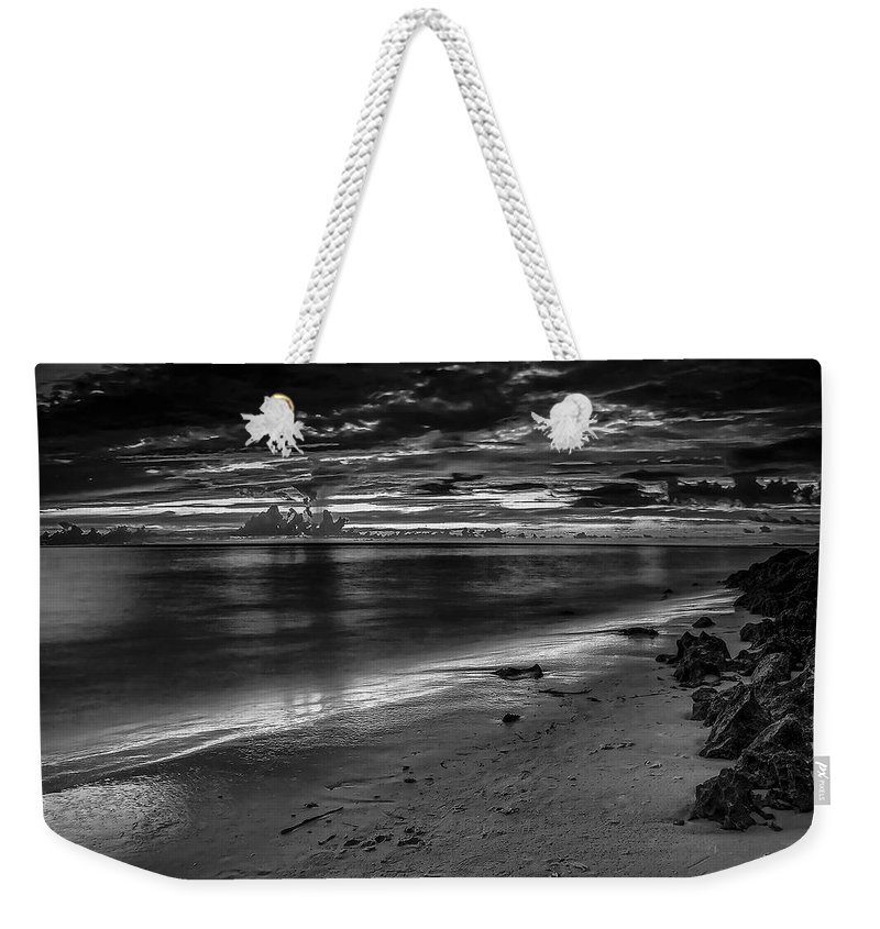 Beach Weekender Tote Bag featuring the photograph Beach 3 by Ingrid Smith-Johnsen