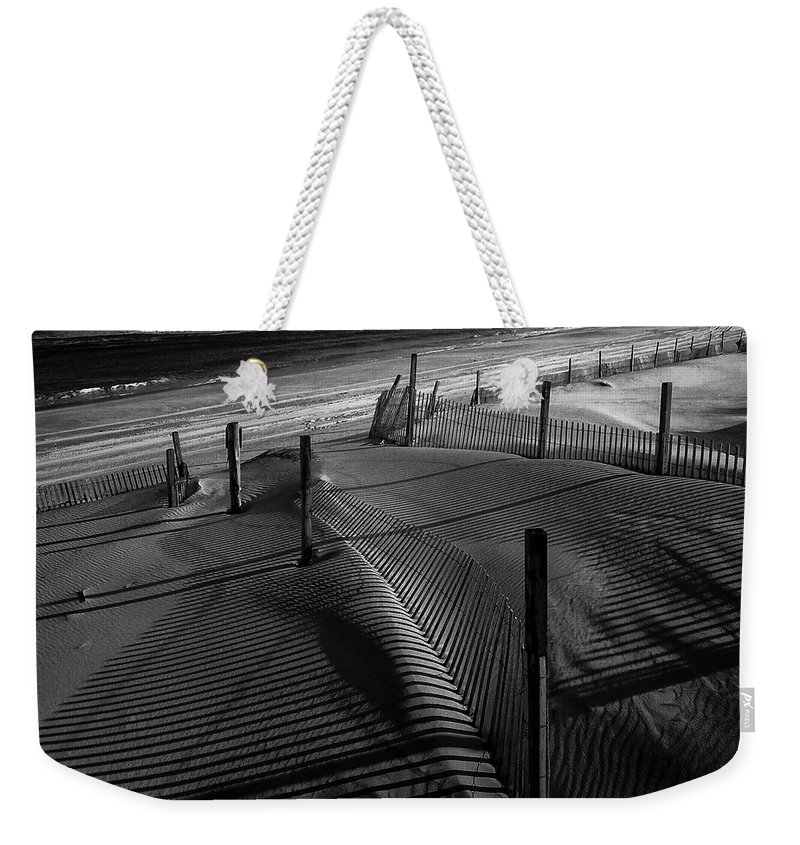 Beach Weekender Tote Bag featuring the photograph Beach 26 by Ingrid Smith-Johnsen