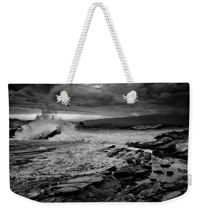 Beach Weekender Tote Bag featuring the photograph Beach 30 by Ingrid Smith-Johnsen