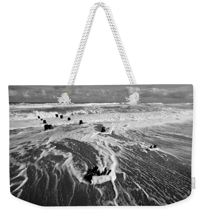 Beach Weekender Tote Bag featuring the photograph Beach 39 by Ingrid Smith-Johnsen