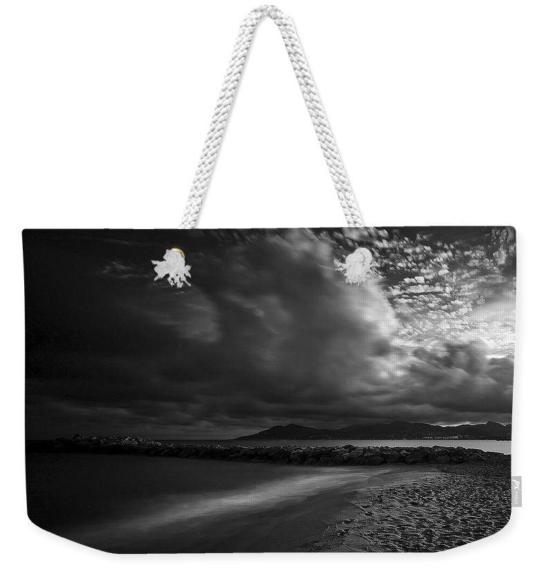 Beach Weekender Tote Bag featuring the photograph Beach 37 by Ingrid Smith-Johnsen