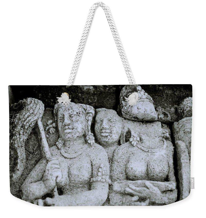 Art Weekender Tote Bag featuring the photograph Borobudur by Shaun Higson