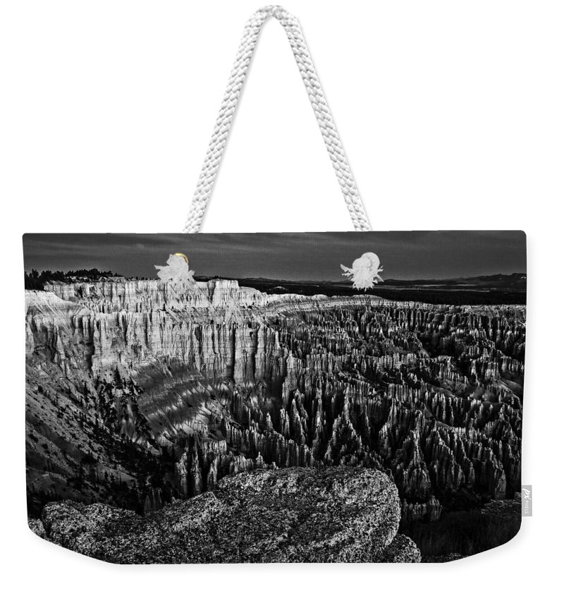Adventure Weekender Tote Bag featuring the photograph Bryce Canyon 7 by Ingrid Smith-Johnsen