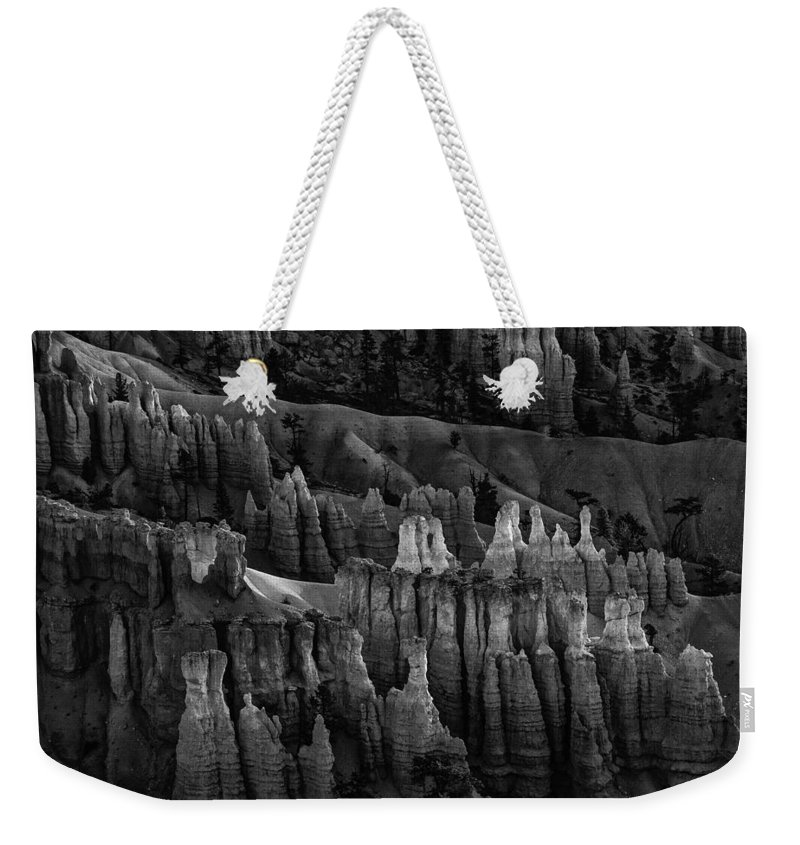 Adventure Weekender Tote Bag featuring the photograph Bryce Canyon 8 by Ingrid Smith-Johnsen