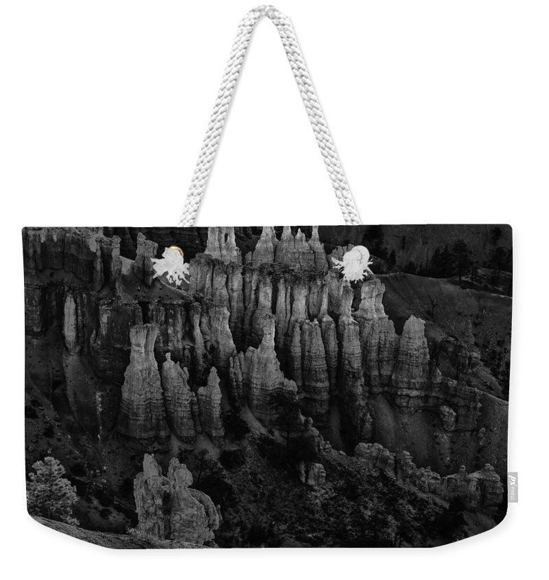 Adventure Weekender Tote Bag featuring the photograph Bryce Canyon 9 by Ingrid Smith-Johnsen