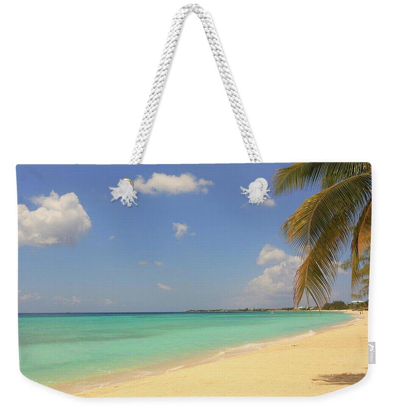 Scenics Weekender Tote Bag featuring the photograph Caribbean Dream Beach by Shunyufan