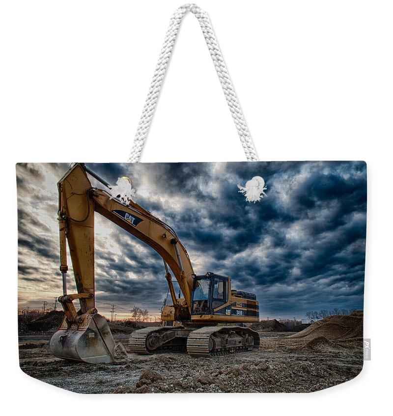 Caterpiller Weekender Tote Bags