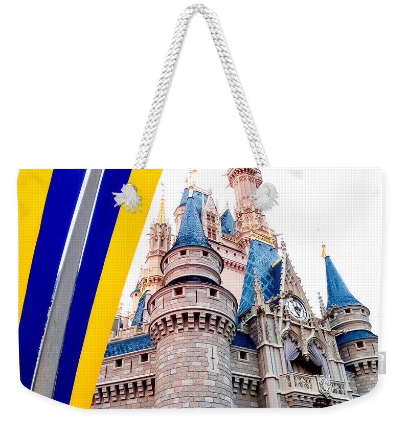 Castle Weekender Tote Bag featuring the photograph Celebration by Greg Fortier