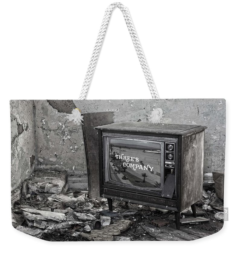 Threes Company Weekender Tote Bag featuring the photograph Channel Three by The Artist Project