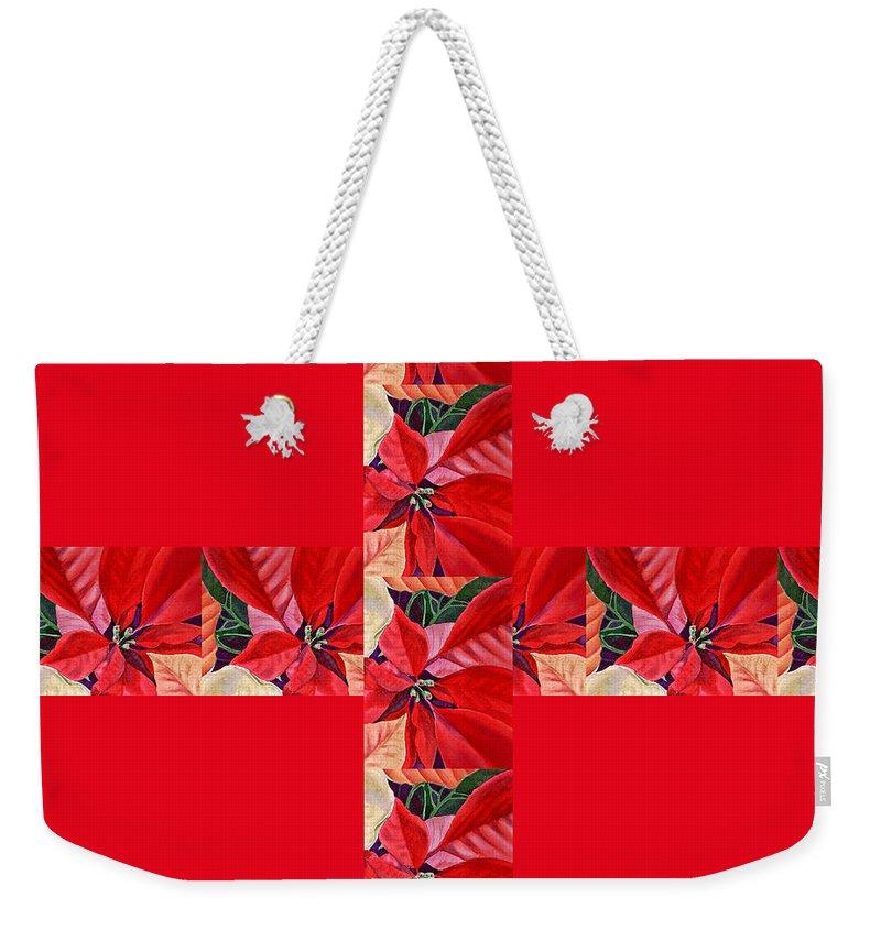 Gift Wrap Weekender Tote Bags