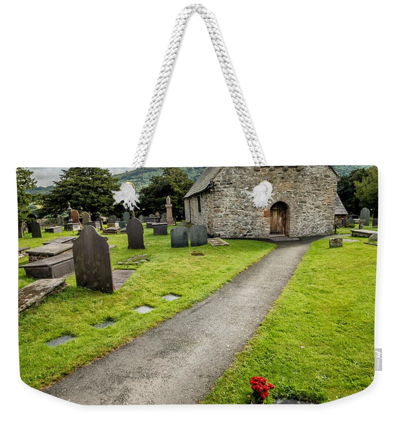 British Weekender Tote Bag featuring the photograph Church Of St Mary by Adrian Evans