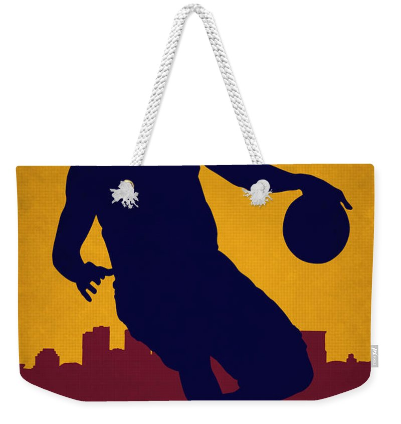 the latest cb9eb 586a9 Cleveland Cavaliers Lebron James Weekender Tote Bag