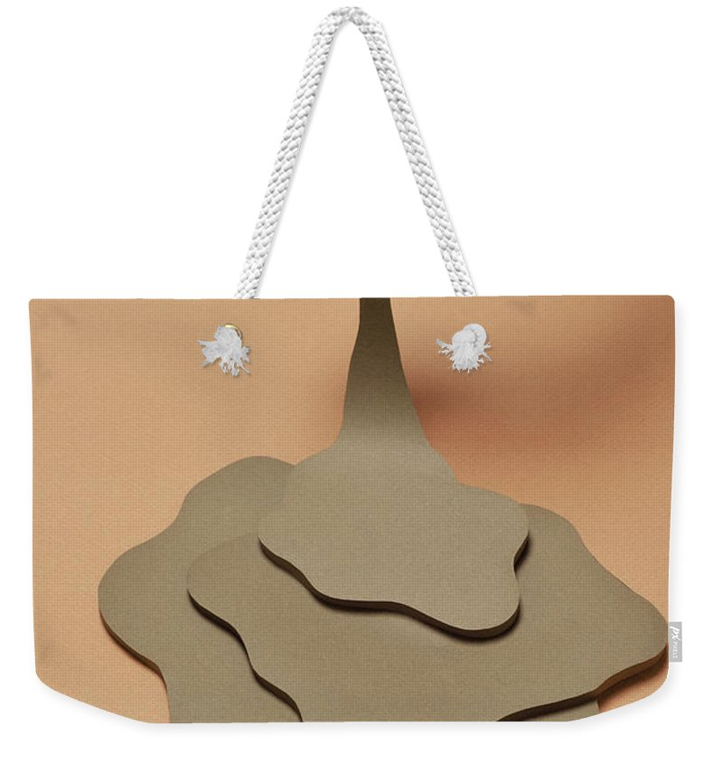 People Weekender Tote Bag featuring the photograph Coffee Spilling Out From A Coffee Cup by Yagi Studio