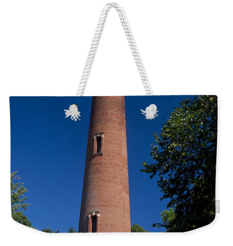 Currituck Beach Lighthouse Weekender Tote Bag featuring the photograph Currituck Beach Lighthouse by Jason O Watson