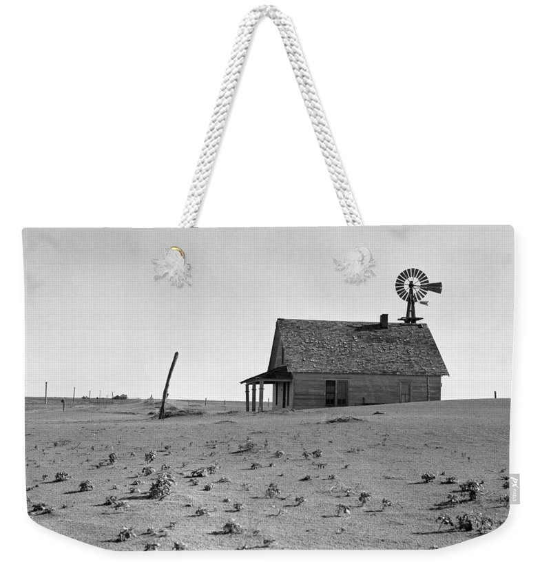 1938 Weekender Tote Bag featuring the photograph Dust Bowl, 1938 by Granger