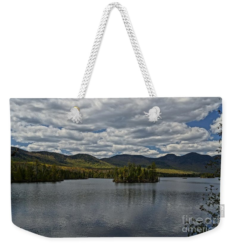 Lake View Weekender Tote Bag featuring the photograph Elk Lake by Jeffery L Bowers