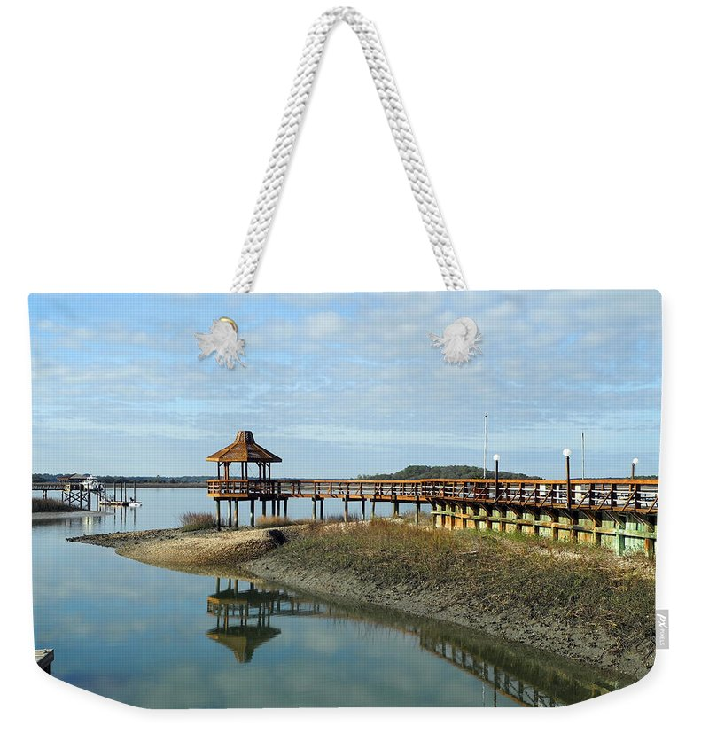Dock Weekender Tote Bag featuring the photograph Enchantment by Lynda Lehmann