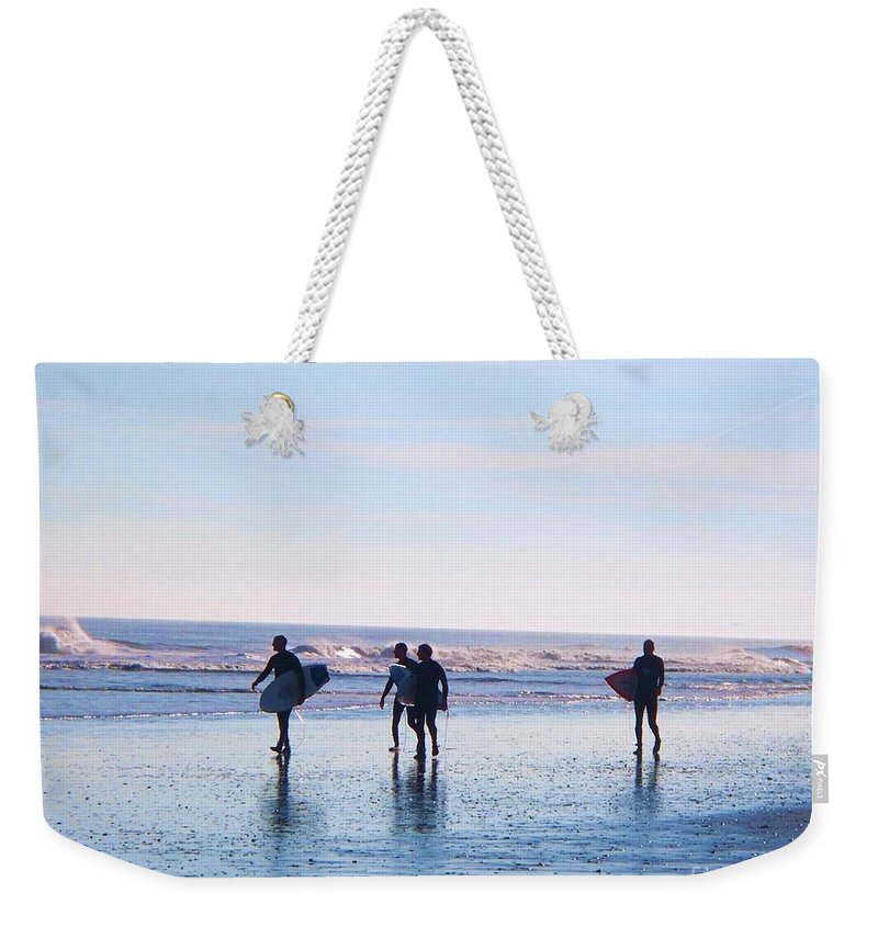 Endless Summer Weekender Tote Bag featuring the photograph Endless Summer by Eric Schiabor