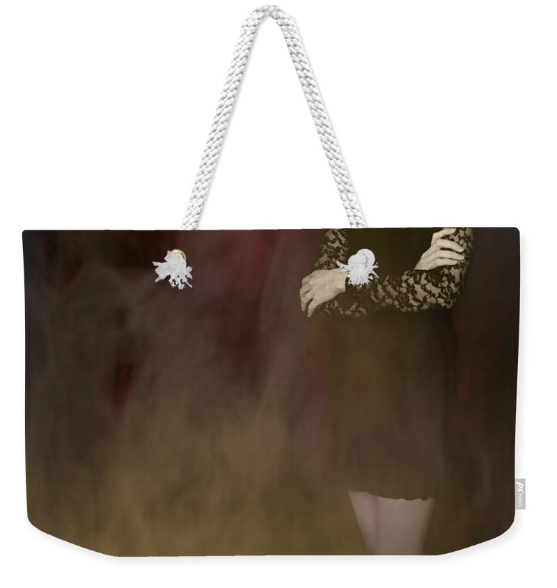 Fantasy Weekender Tote Bag featuring the photograph Fantasy Portrait by Amanda Elwell