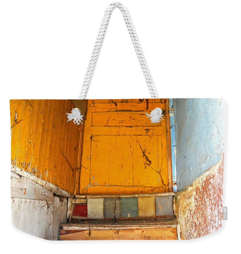 Abstract Weekender Tote Bag featuring the photograph Forgotten Paths by Lauren Leigh Hunter Fine Art Photography