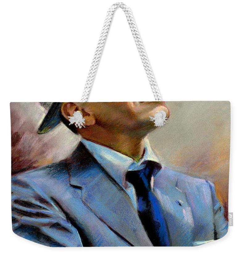 Celebrities Weekender Tote Bags