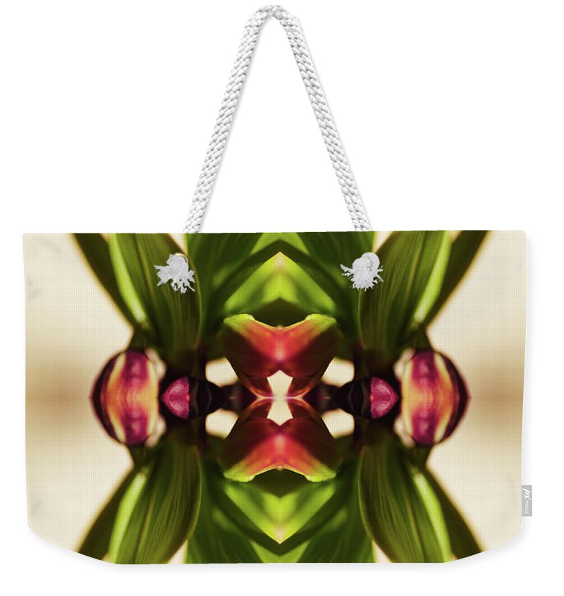 Fritillaria Weekender Tote Bag featuring the photograph Fritillaria Flower Plant by Silvia Otte