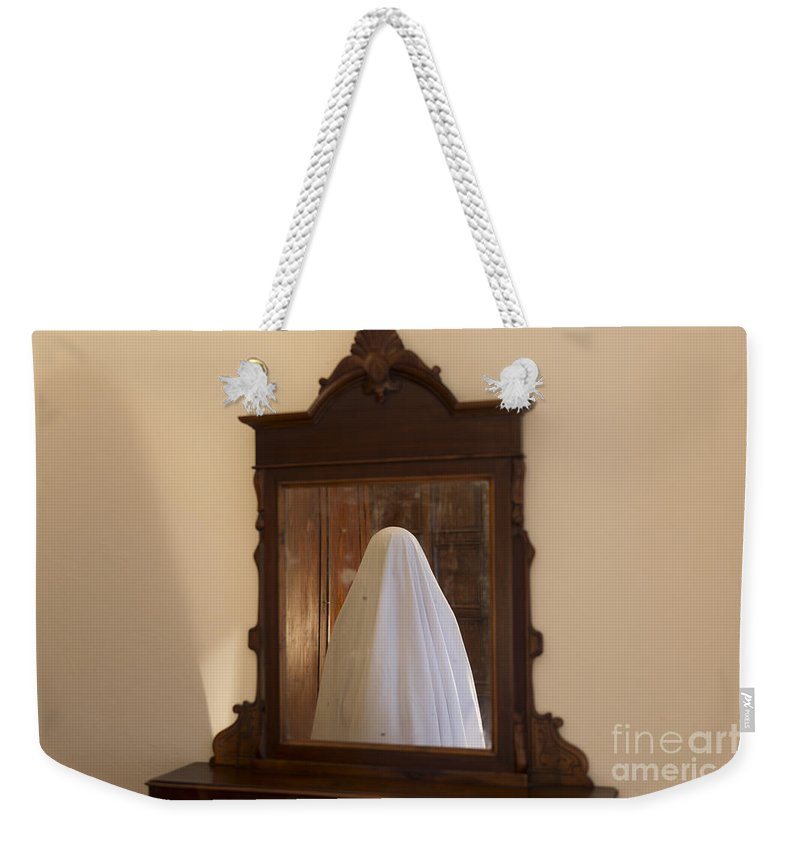 Ghost Weekender Tote Bag featuring the photograph Ghost by Mats Silvan