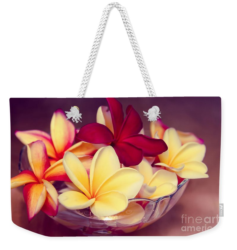 Hawaii Weekender Tote Bag featuring the photograph Gifts Of The Heart by Sharon Mau