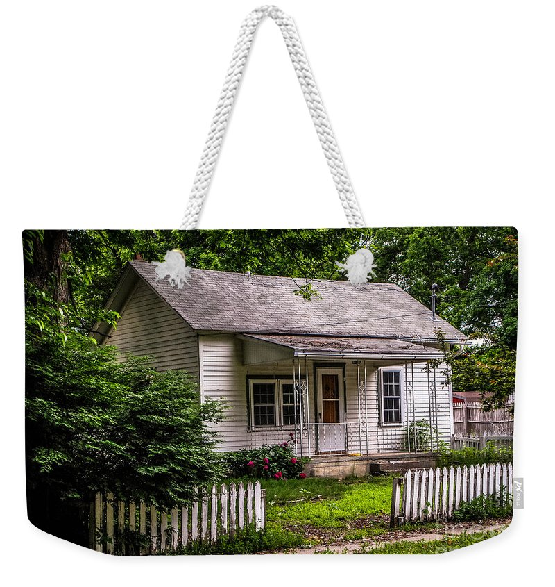 Eaton Rapids Weekender Tote Bag featuring the photograph Home Sweet Home by Grace Grogan