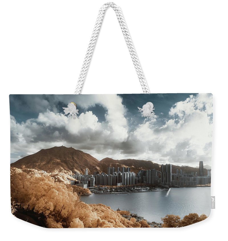 Tranquility Weekender Tote Bag featuring the photograph Hong Kong by D3sign