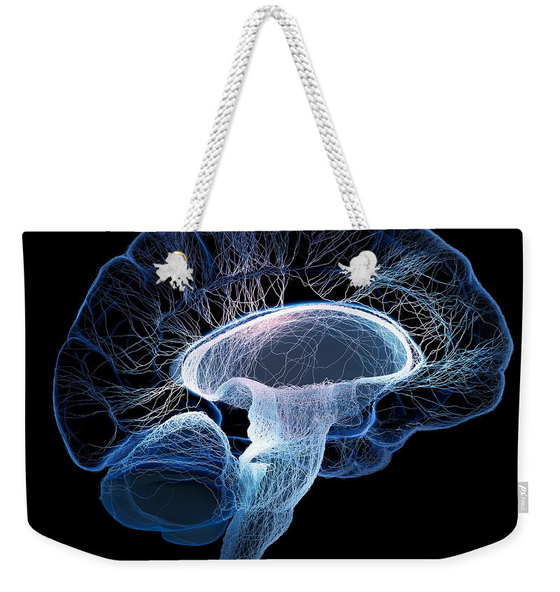 Nervous System Photographs Weekender Tote Bags