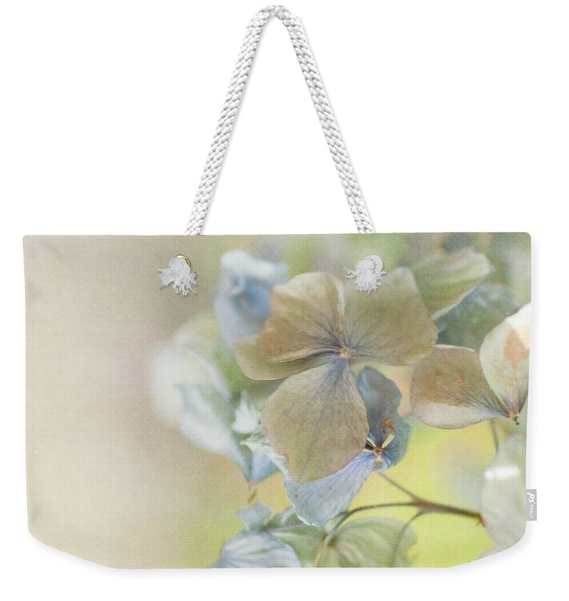Hydrangea Weekender Tote Bag featuring the photograph Hydrangea by Jill Ferry