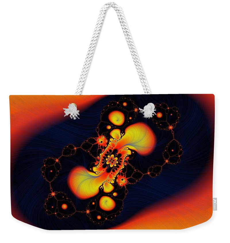 Abstract Weekender Tote Bag featuring the photograph In The Other World by Jeff Swan