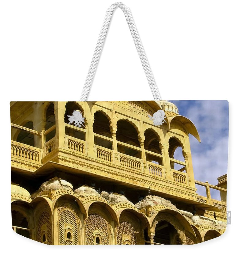 Amazing Weekender Tote Bag featuring the photograph Jaisalmer by Tim Hester