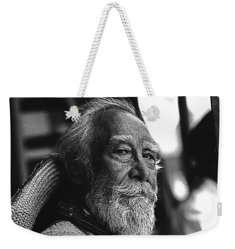 Julian Rivero The High Chaparral Old Tucson Arizona 1970 Weekender Tote Bag featuring the photograph Julian Rivero The High Chaparral Old Tucson Arizona 1970 by David Lee Guss