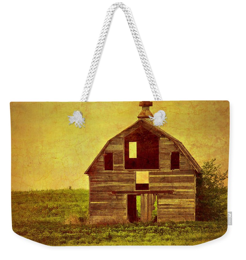 Old Barns Weekender Tote Bag featuring the photograph Let The Sunshine In by Nikolyn McDonald