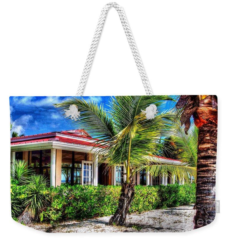 Beach Weekender Tote Bag featuring the photograph Life's A Beach by Debbi Granruth