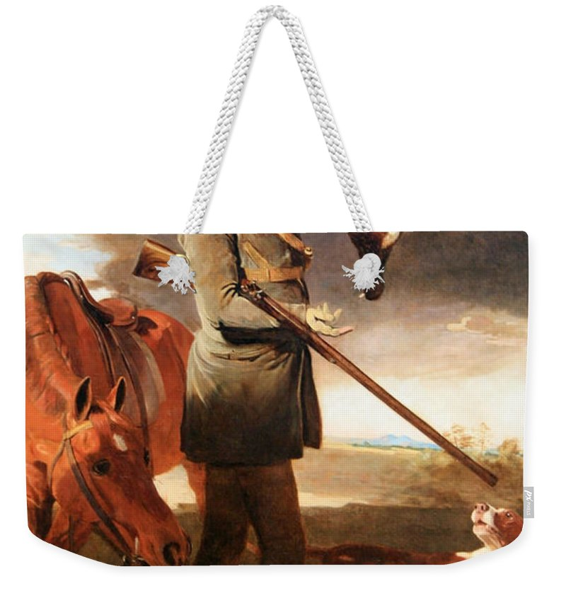 J.g. Weekender Tote Bag featuring the photograph Marshall's J G Shaddick -- The Celebrated Sportsman by Cora Wandel
