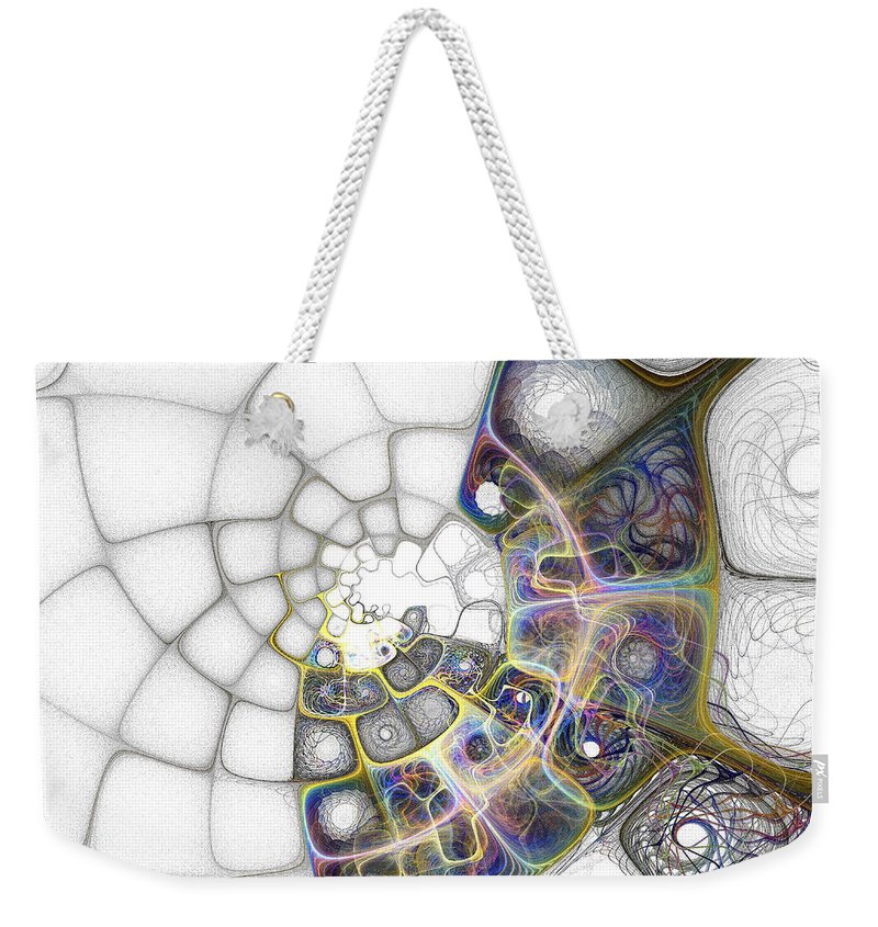 Digital Art Weekender Tote Bag featuring the digital art Memories by Amanda Moore