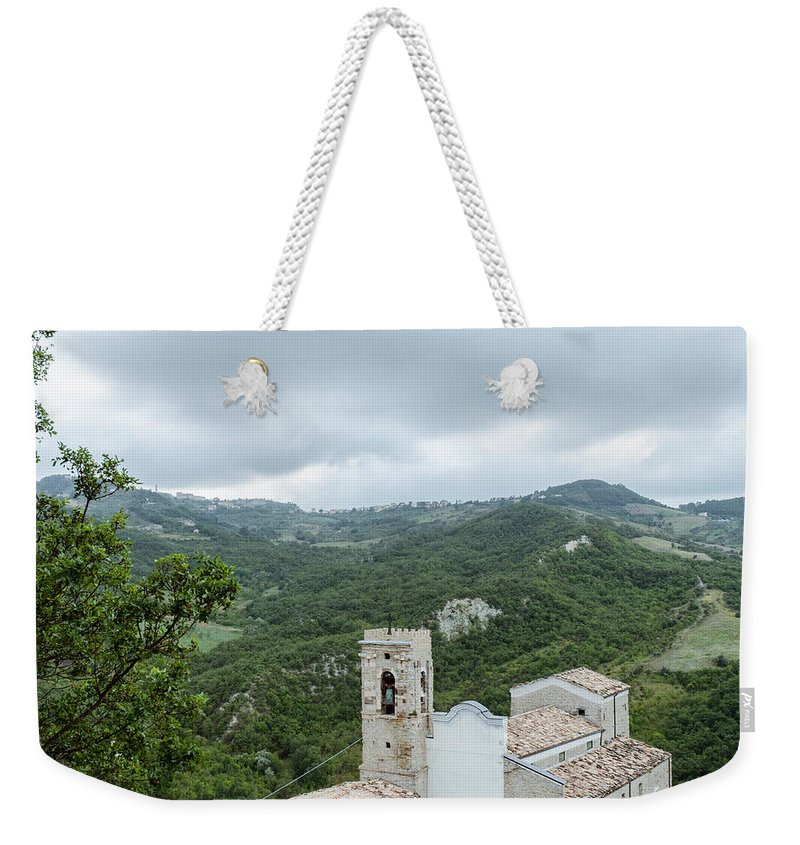 Landscape Weekender Tote Bag featuring the photograph Memories by Andrea Mazzocchetti