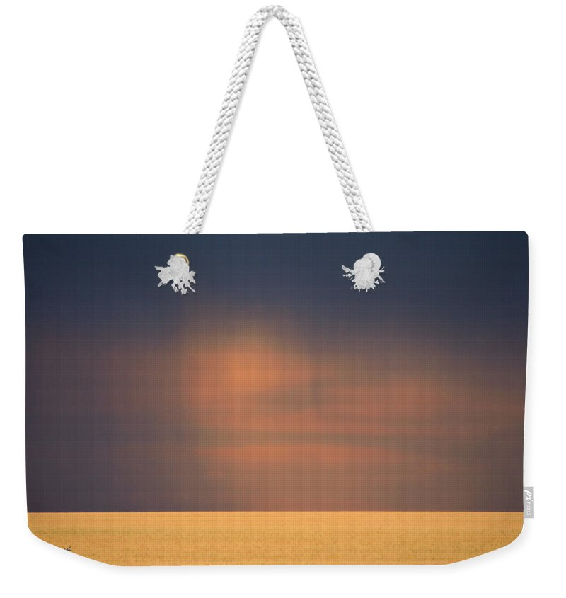 Midwest Weekender Tote Bag featuring the photograph Midwest Storm by Jeanette C Landstrom