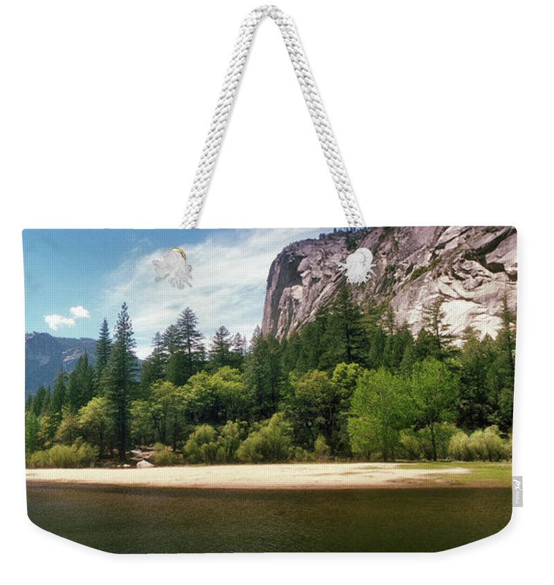 Photography Weekender Tote Bag featuring the photograph Mirror Lake In Yosemite National Park 1 by Panoramic Images