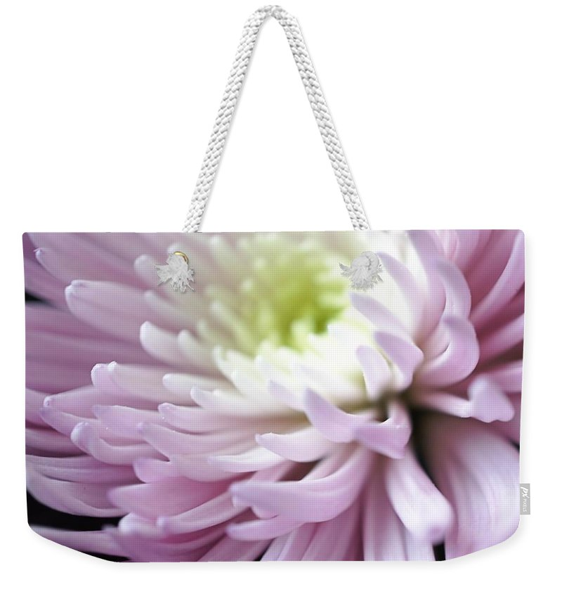 Flower Weekender Tote Bag featuring the photograph Modern Beauty by Jenny Hudson