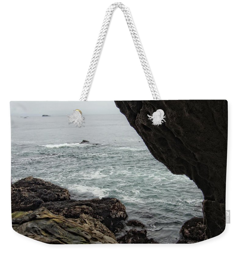Ocean Weekender Tote Bag featuring the photograph Ocean View by Donna Blackhall