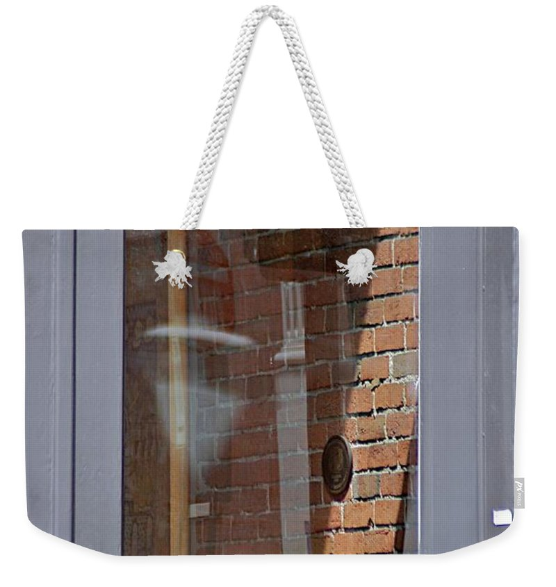 Doorway Weekender Tote Bag featuring the photograph Office by Joseph Yarbrough
